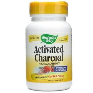 NATURE'S WAY® ACTIVATED CHARCOAL